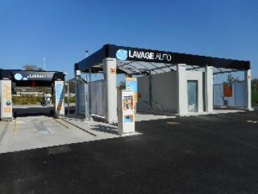 Ouverture d'un centre de lavage auto